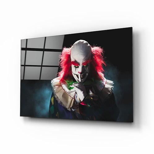 Shhh, Clown Glass Printing