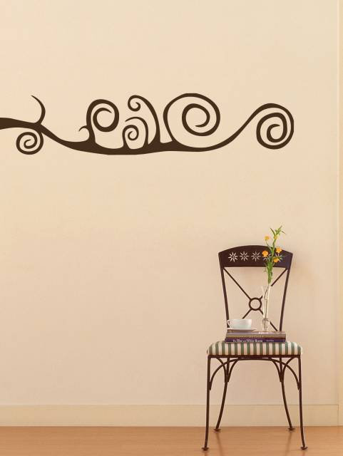 Twisted Branch Wall Sticker