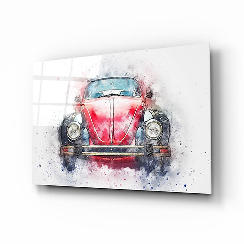 The Car Glass Painting