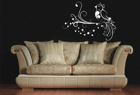 Fairy Tale Bird Wall Sticker