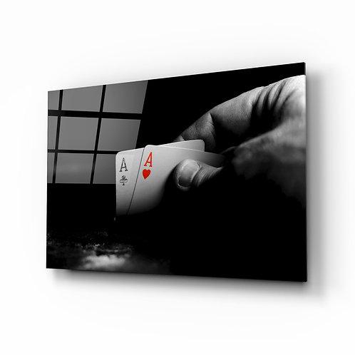 Playing Card Glass Printing