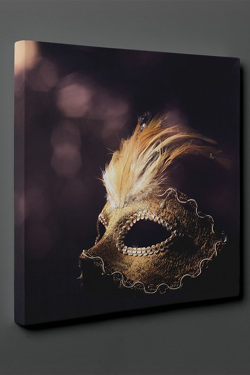 Prom Mask Canvas Printings