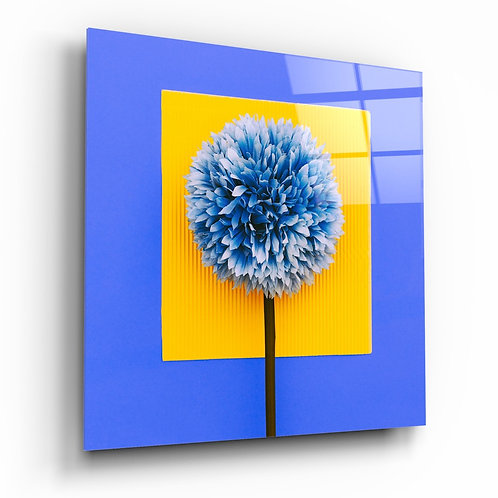Flower Glass Printing