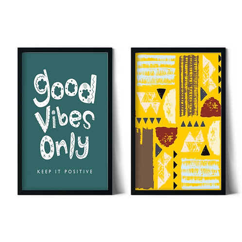 Good Messages and Patterns Framed Combination Table