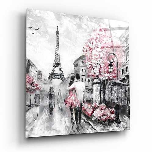 Paris UV Printed Glass Printing