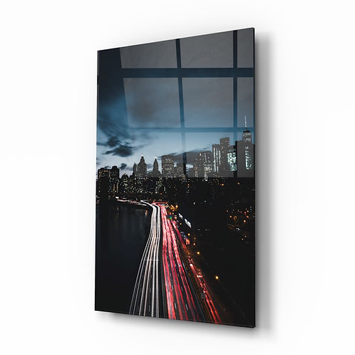 City Landscape Glass Printing