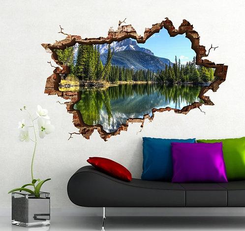 Nature 3D Wall Sticker