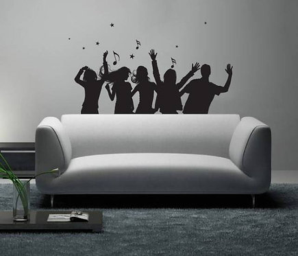 Party Wall Sticker