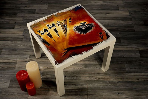 Playing Cards Printed Coffee Tables