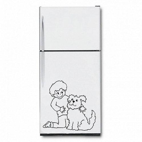 Cute Dog  Wall Sticker