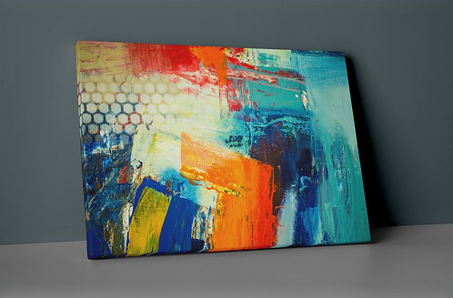 Abstract Canvas Printings
