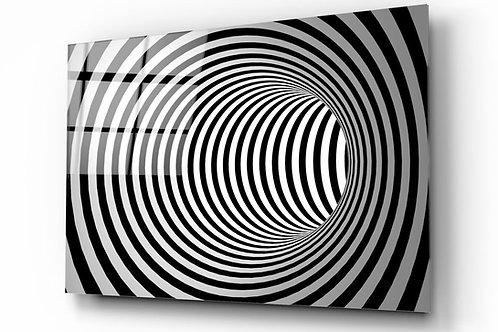 Illusion UV Printed Glass Painting