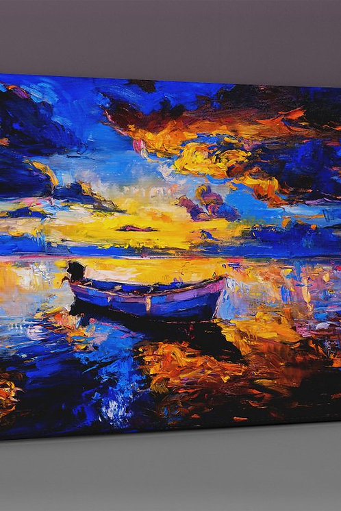 Boat Canvas Printings