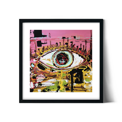 Eye Framed Painting