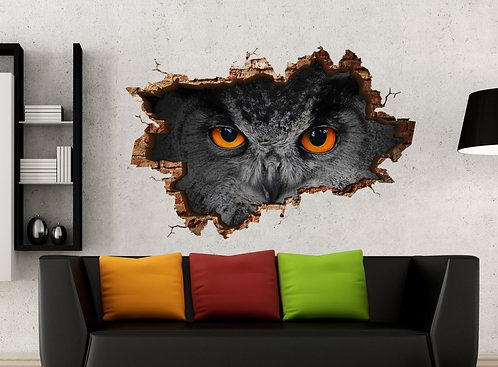Owl 3D Wall Sticker
