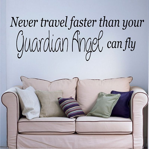 Guardian Angel Wall Sticker