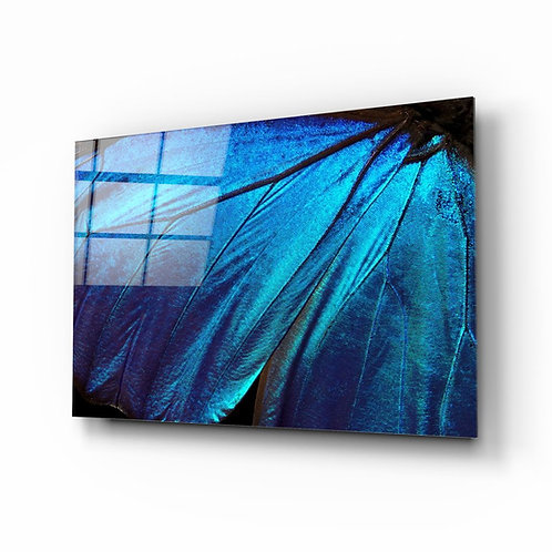 Butterfly Wing UV Printed Glass Painting