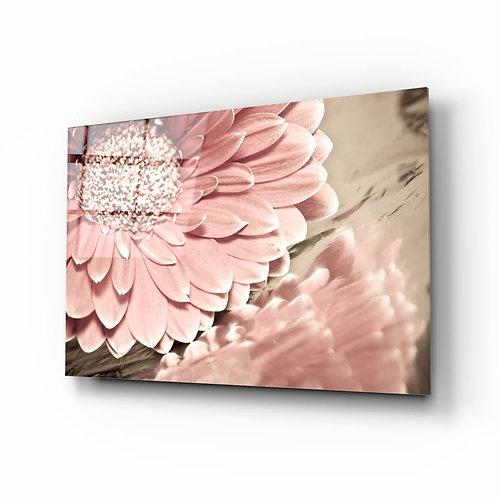 Flower UV Printed Glass Printing