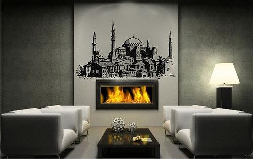 Old Hagia Sophia  Wall Sticker