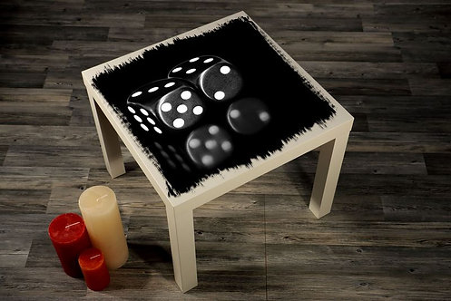Dice Printed Coffee Tables