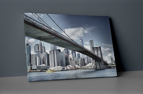 Manhattan Bridge Canvas Printings