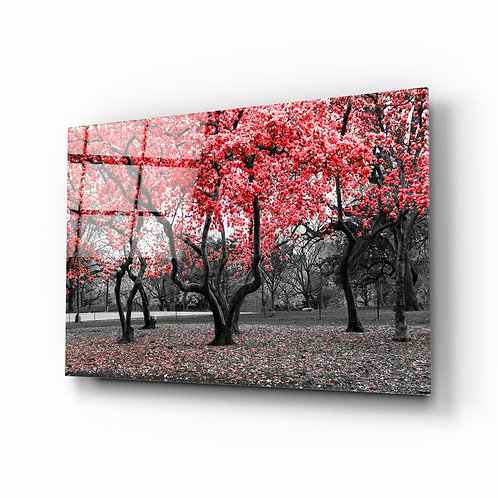Blossom UV Printed Glass Painting