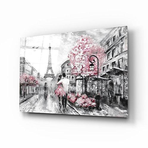 Paris UV Printed Glass Printing