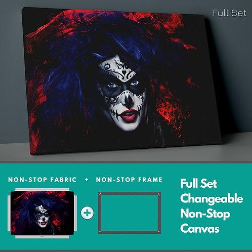 Joker Make Up Non-Stop Canvas Printings