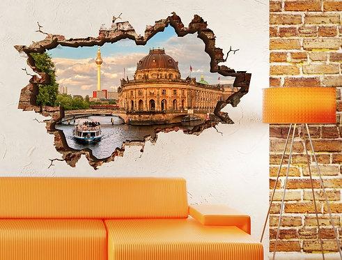 Berlin 3D Wall Sticker