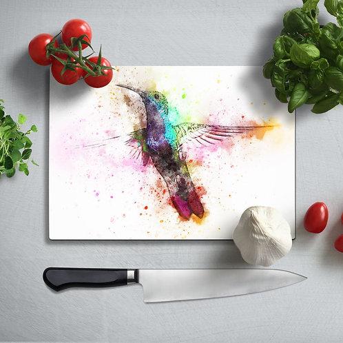 Bee-eater  Uv Printed Glass Chopping Board 35x25 cm