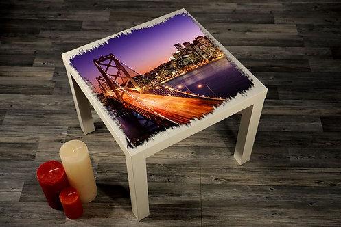 San Francisco Bridge Printed Coffee Tables