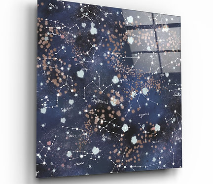 Space UV Printed Glass Painting