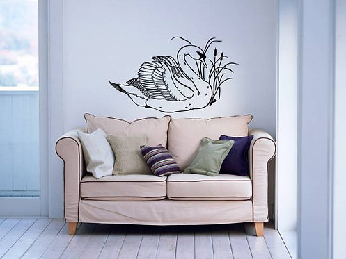 Swan Wall Sticker