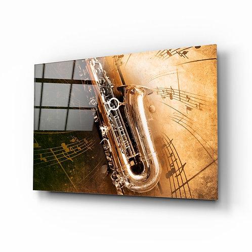 Music UV Printed Glass Painting