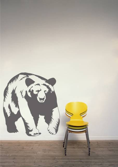Grizzly Bear Wall Sticker