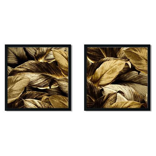 Leaves Framed Painting