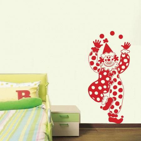 Clown Wall Sticker