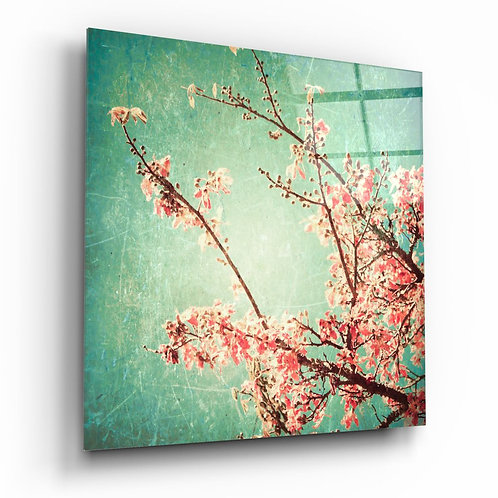 Cherry Blossom UV Printed Glass Printing