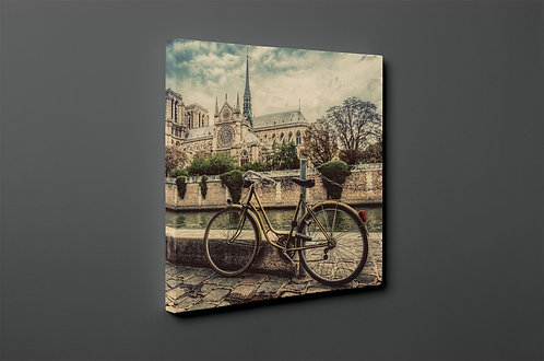 Bicycle Canvas Printings