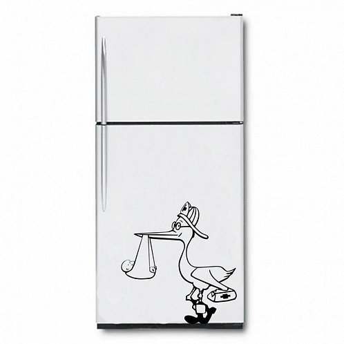 Stork  Wall Sticker