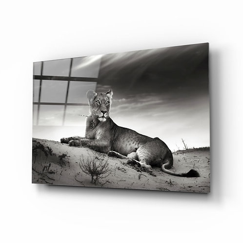 Lioness UV Printed Glass Printing