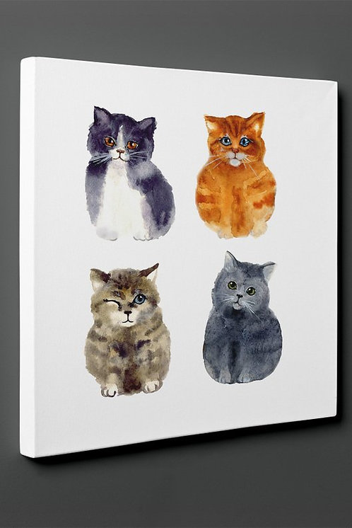 Cats Canvas Printings