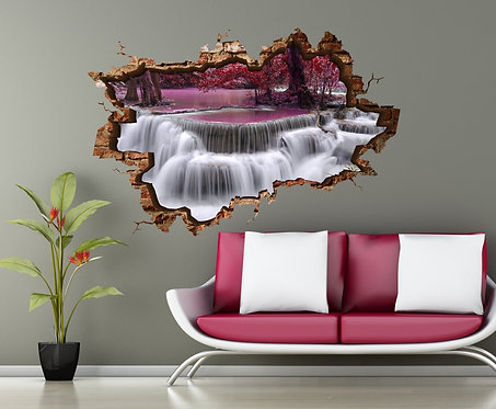 Waterfall 3D Wall Sticker