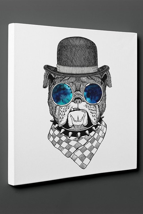 Mr Bulldog Canvas Printings