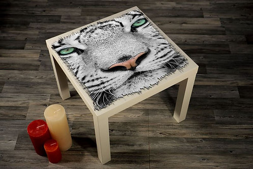 The White Tiger Printed Coffee Tables