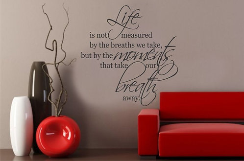 'Life �s ...' ' Wall Sticker