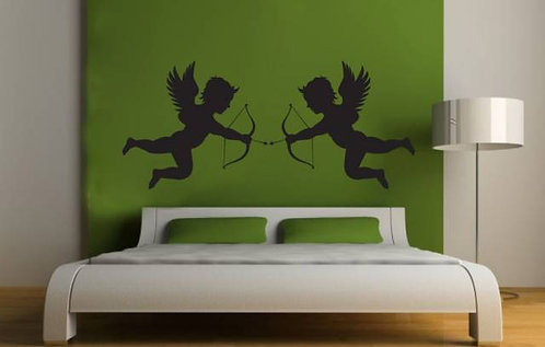 Eros Love Angels Wall Sticker