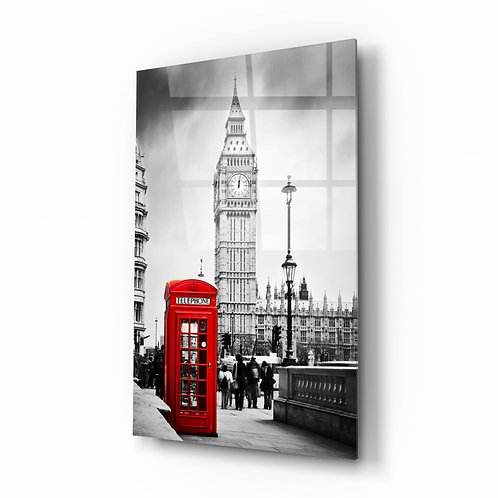 London UV Printed Glass Painting