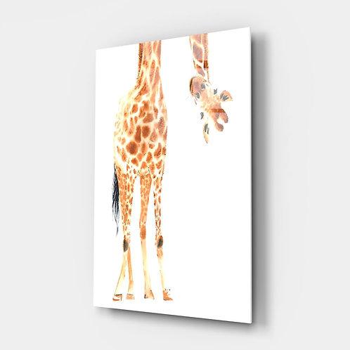 Giraffe Glass Printing