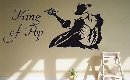 King Of Pop Wall Sticker